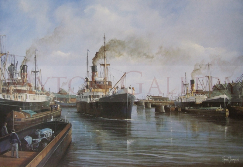 adrian thompson merchants of the humber merchant ships