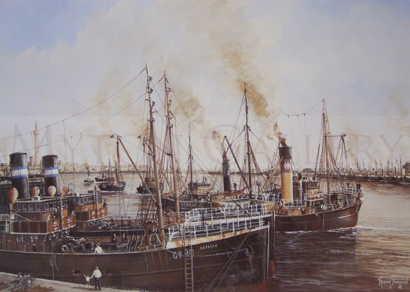 adrian thompson the call of the sea grimsby trawlers
