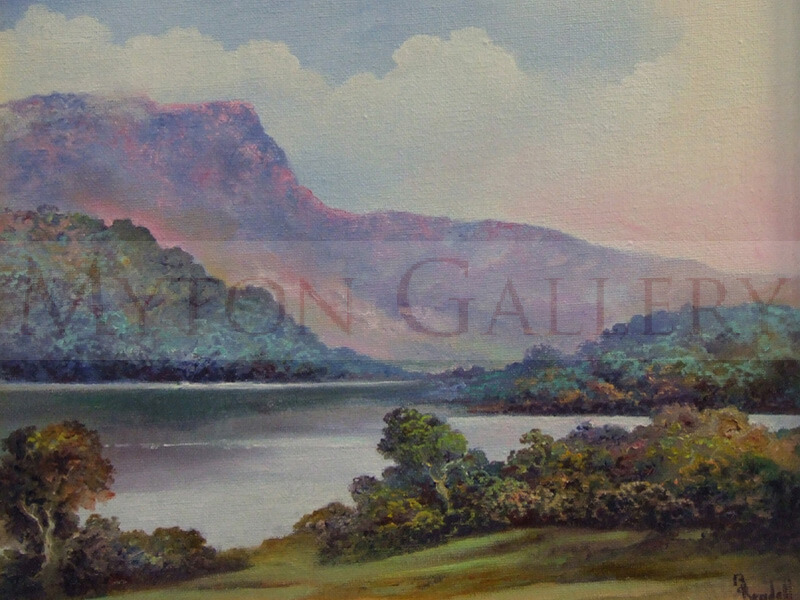Borrowdale Landscape painting by Bruce Kendall