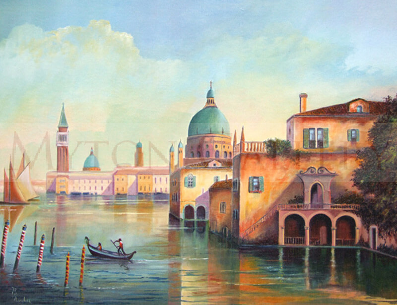 Venice picture by artist Bruce Kendall