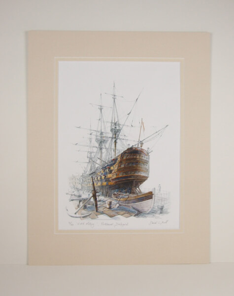 HMS Victory by David Bell
