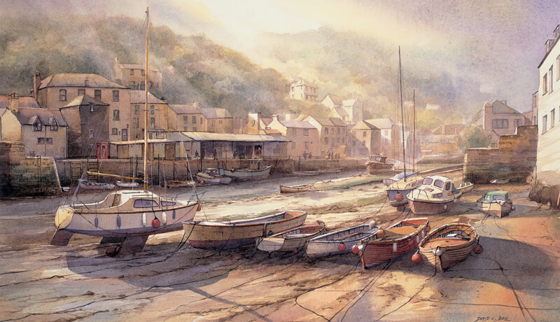 Polperro picture fine art print at myton gallery hull