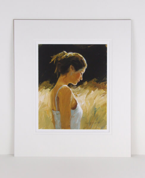 Fields Of Gold picture by Paul Milner mounted for sale