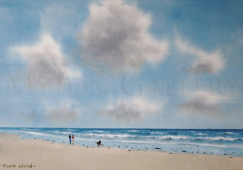 Summer Breeze Seascape picture by artist Kevin Wood