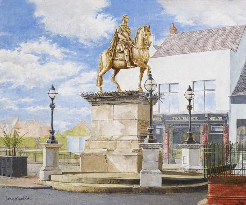 King William statue, Hull - print at Myton Gallery