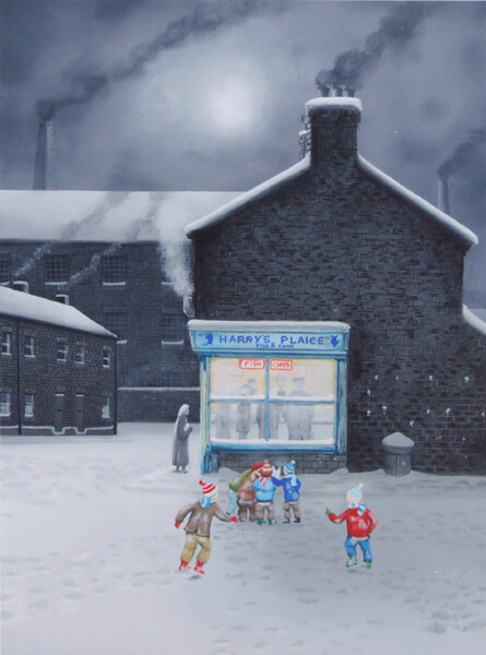 leigh lambert little charlie's got chips picture at myton gallery hull