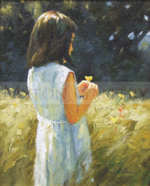 Summer Scent original painting by artist Paul Milner