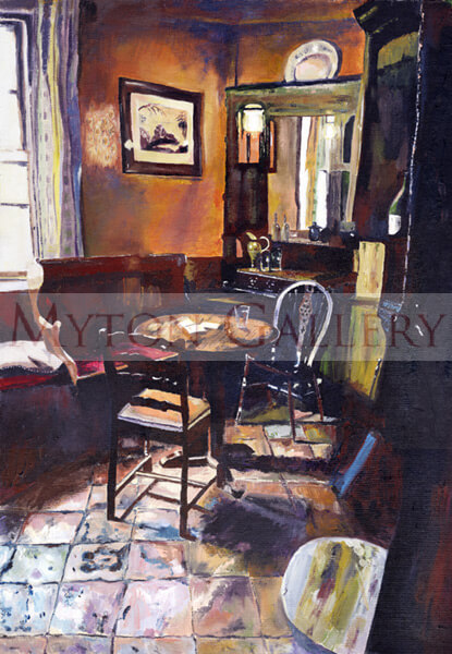 Nellies, White Horse Pub, Beverley original painting by artist Sarah Chadwick