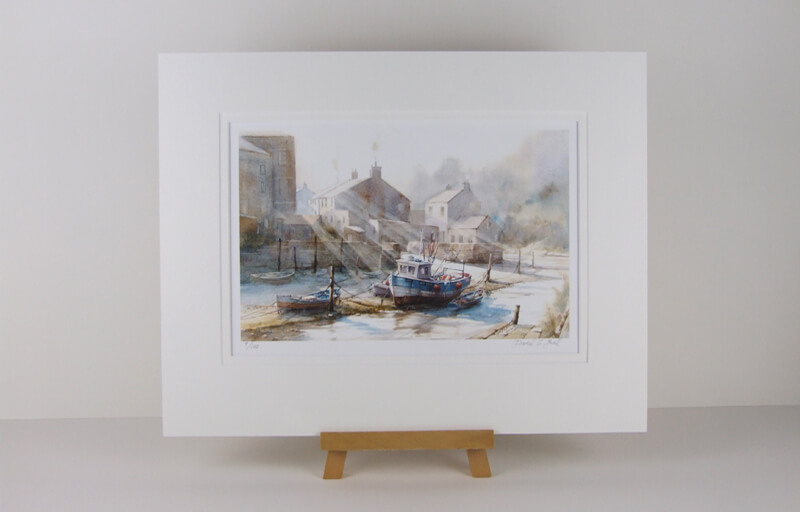 staithes_david_bell_mounted_for_sale