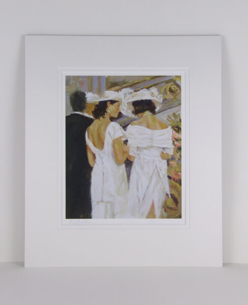 The Secret by Paul Milner mounted for sale
