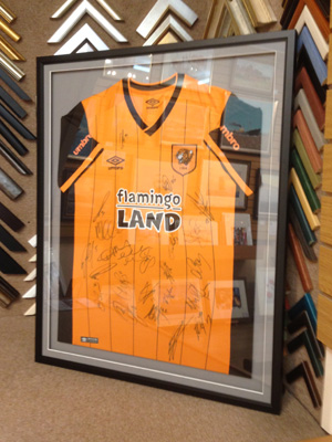 3944a2debb3 Bespoke Picture Framing - Hull - Artwork, sports shirts, X-Stitch ...